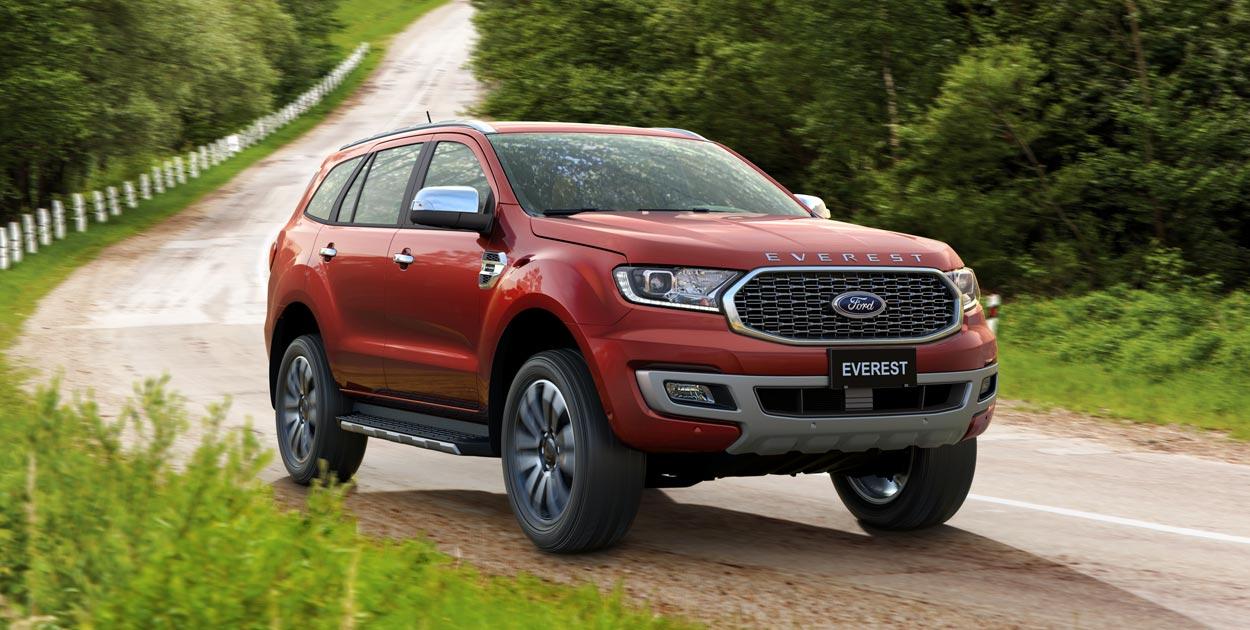 Ford Everest Titanium 2.0L 4×2 AT13