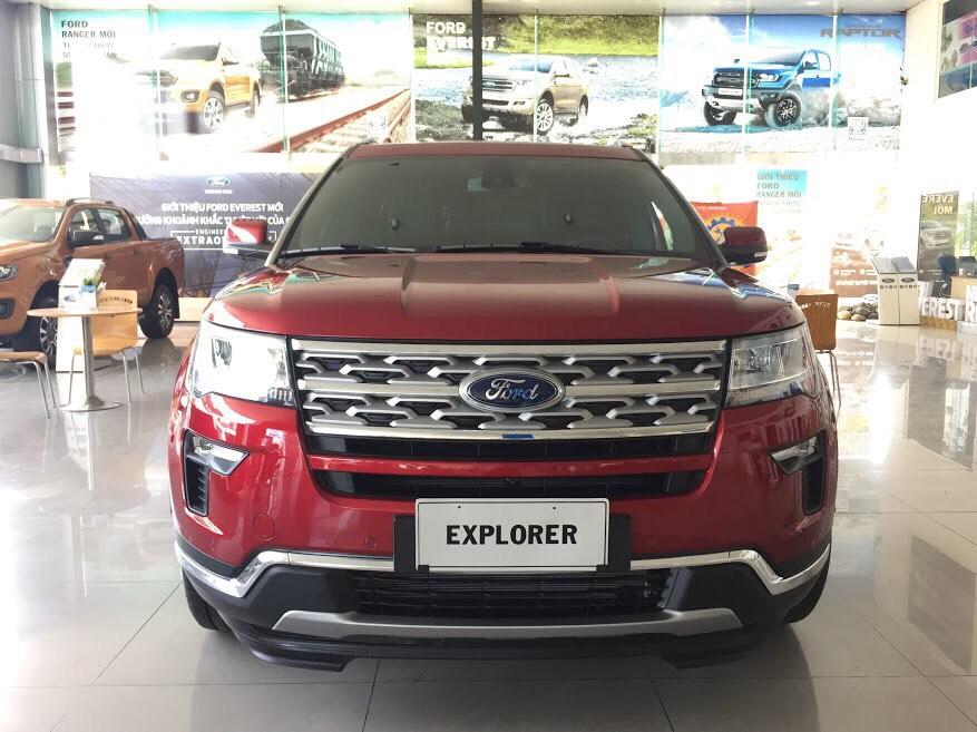 Ford Explorer Limited 2.3l Ecoboost 4WD 20202