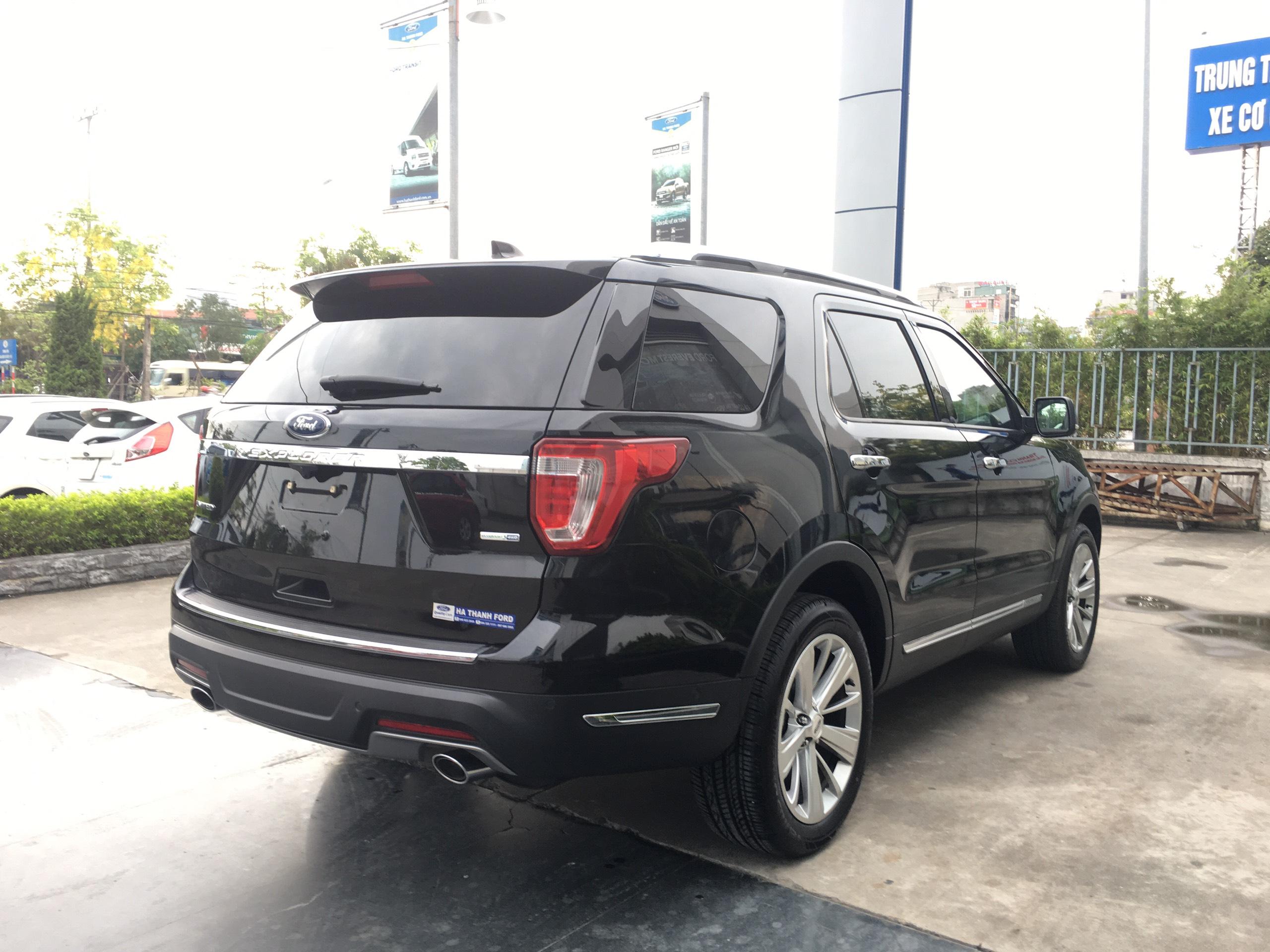 Ford Explorer Limited 2.3l Ecoboost 4WD 20207