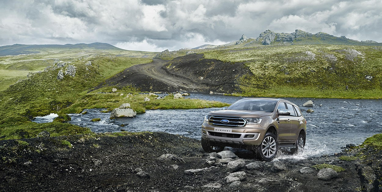 Ford Everest Titanium 2.0L 4×2 AT9