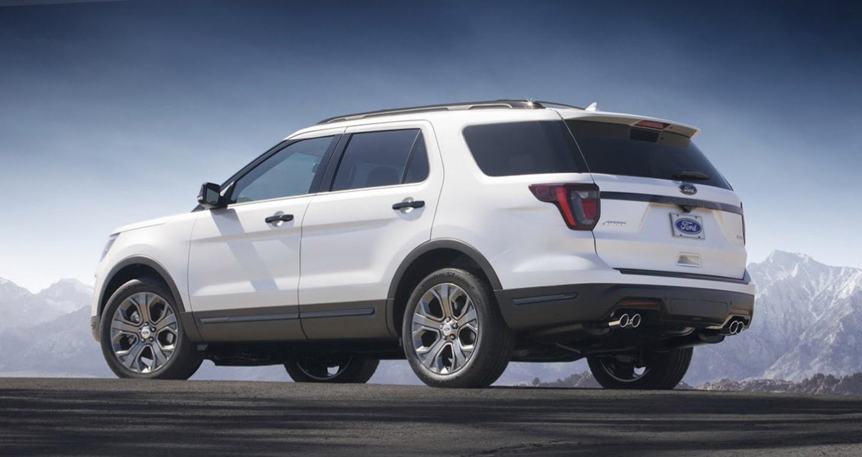 Ford Explorer Limited 2.3l Ecoboost 4WD 202010
